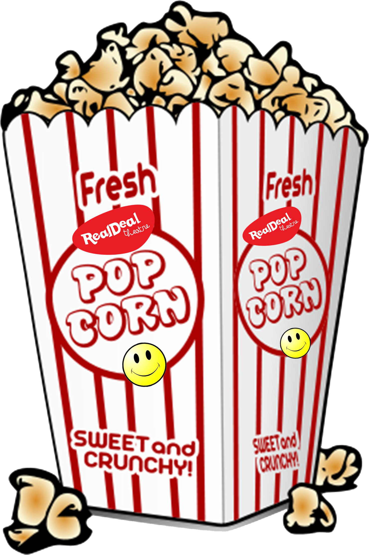 Popcorn Saturday logo